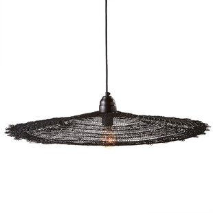 Large Round Wire 1-Light Pendant by CBK