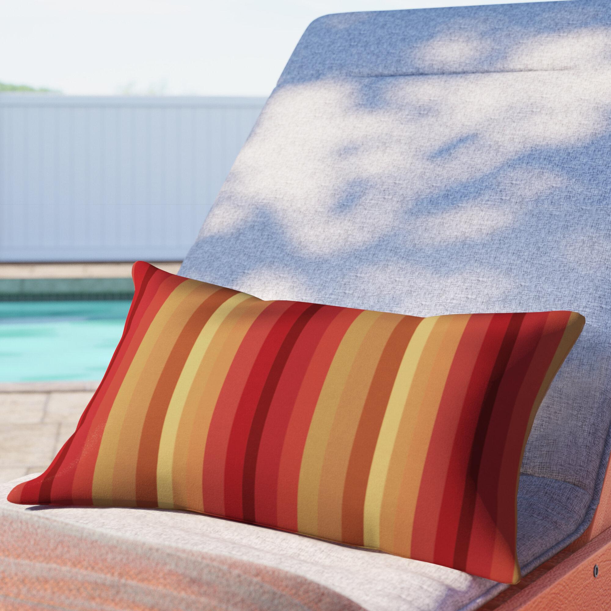 Set Of 4 Outdoor Decorative Lumbar Pillows Sunbrella Maxim Heather Beige Indian South Asian Home Décor Pillows Home Garden