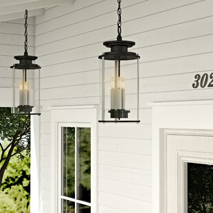 17 Stories Evgenia 3-Light Outdoor Hanging Lantern