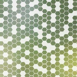 Honeycomb Privacy Window Film by Stick Pretty