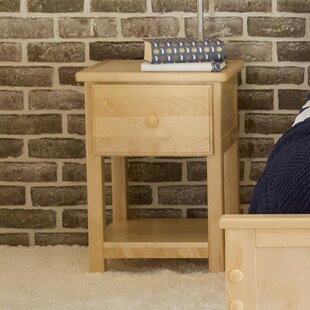 Find the perfect Ginny 1 Drawer Nightstand by Harriet Bee Reviews (2019) & Buyer's Guide