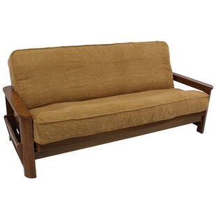 Premium Camel Box Cushion Futon Slipcover
