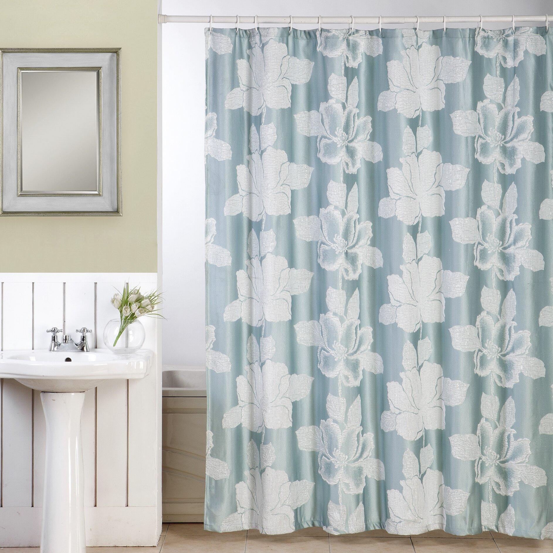 Ellen Tracy Slipcovers Shower Curtain & Reviews | Wayfair