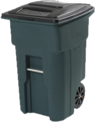 Curbside Trash Cans
