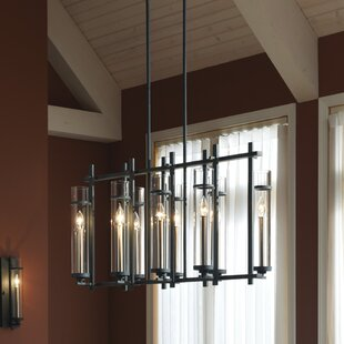 Trent Austin Design Yucca Valley 8-Light Kitchen Island Pendant