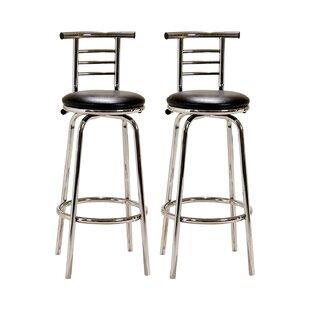 Sales Icterine 74cm Swivel Bar Stool (Set Of 2)