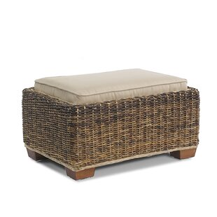 St. Kitts Ottoman with Cushion by ElanaMar Designs