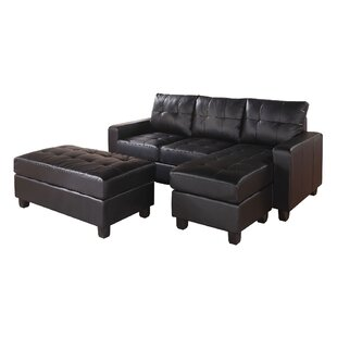 Baysview Reversible Sectional with Ottoman