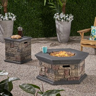 Keper Concrete Propane Fire Pit With Tank Holder By Loon Peak
