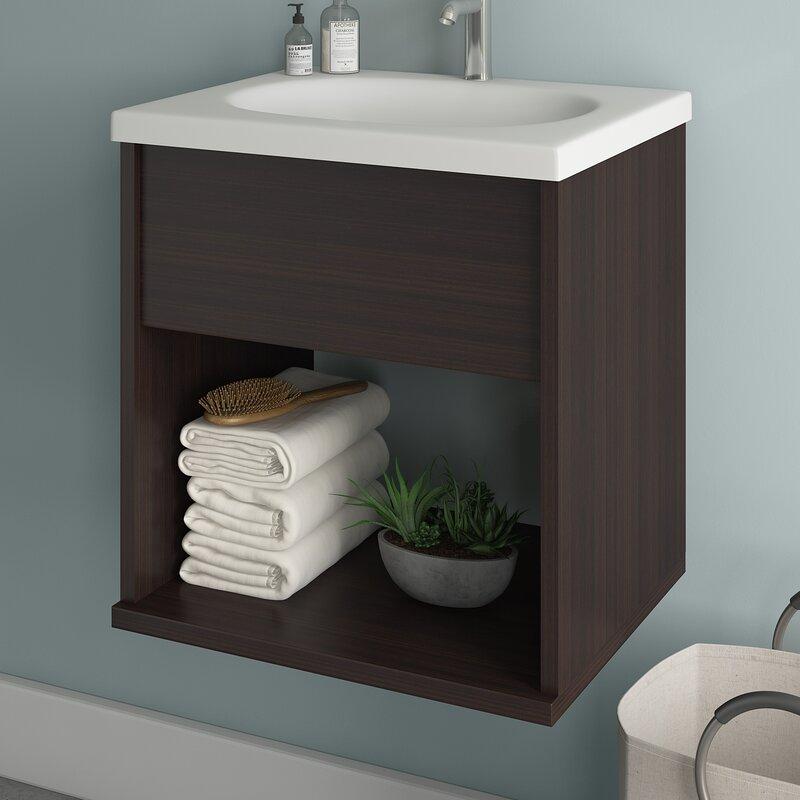 Meredith 19 Single Bathroom Vanity Set
