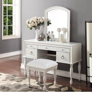 Off White Bedroom Vanity Set | Wayfair