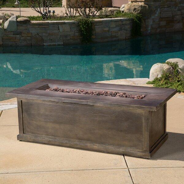 Home Loft Concepts Capistrano Metal Propane Fire Pit Table U0026 Reviews    Wayfair