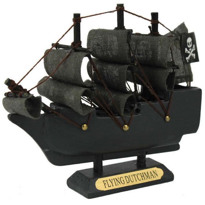 Breakwater Bay Leesburg Dutchman Model Pirate Ship Wayfair