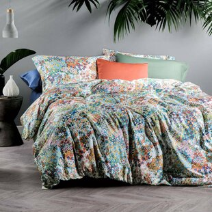 Bungalow Rose Plaisance Cotton Reversible Duvet Set