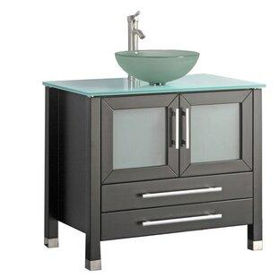 Compare prices Prange Modern 35 Single Bathroom Vanity Set ByOrren Ellis