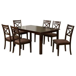 Kropf 7 Piece Dining Set by Alcott Hill
