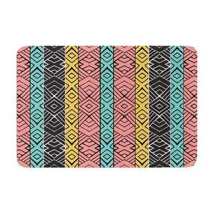 Pom Graphic Design Artisan Memory Foam Bath Rug