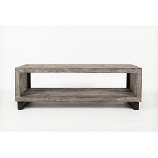 Conover Wood and Metal Coffee Table by Union Rustic