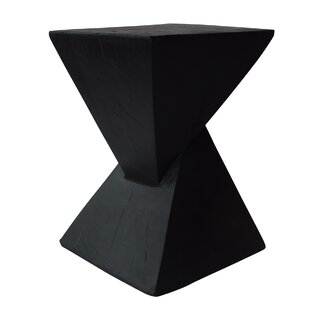 Hurley Outdoor Light-Weight Concrete Accent Table