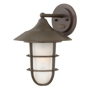 Read Reviews Washer Outdoor Wall Lantern By Breakwater Bay