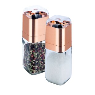 Salt and Pepper Spice Mill Set