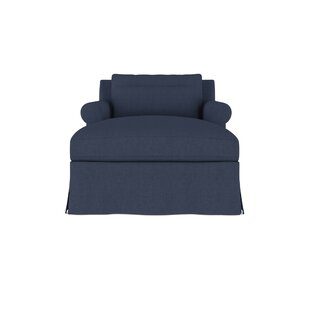 Canora Grey Autberry Linen Chaise Lounge
