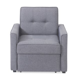 Cushman Convertible Chair Ivy Bronx Great price
