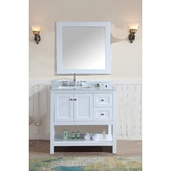 Ari Kitchen Bath Emily Single Bathroom Vanity Set With