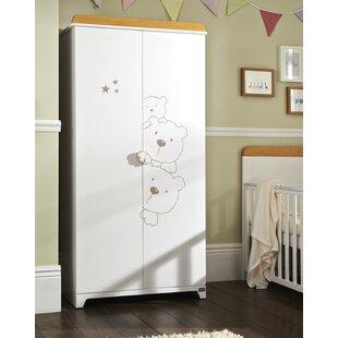 Bears 2 Door Wardrobe By Tutti Bambini