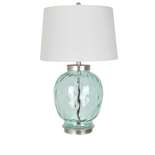Petersen Dimpled Glass 28 Table Lamp