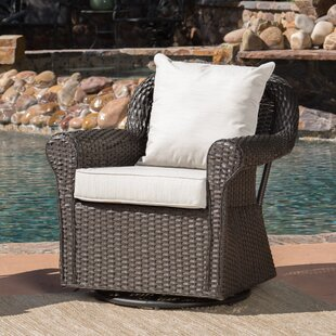 Cecilio Outdoor Swivel Rocking Chair by DarHome Co
