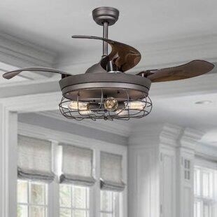 Weathered grey ceiling fan wayfair save aloadofball Images