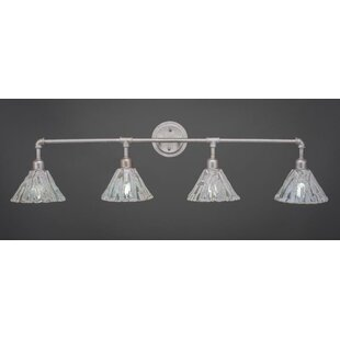 Williston Forge Kash 4-Light Cone Vanity Light