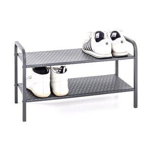 6 Pair Shoe Rack By Rebrilliant