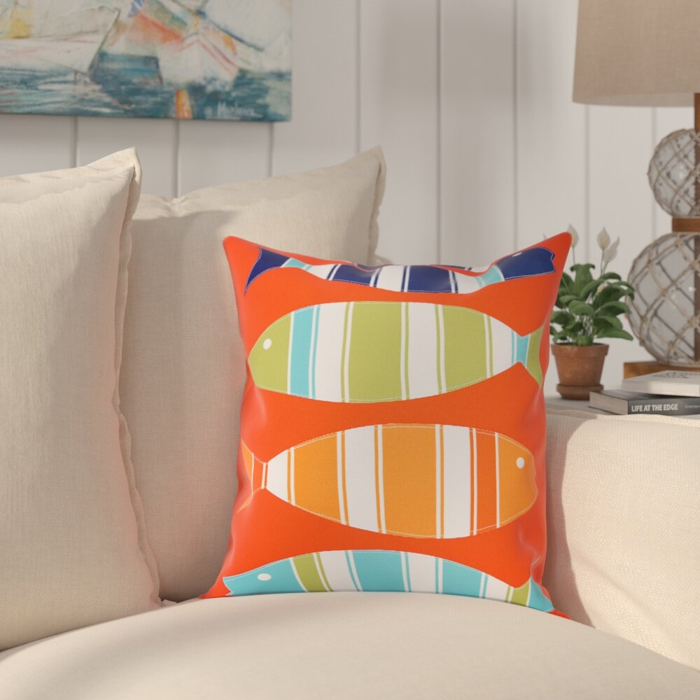 Highland Dunes Addyson Outdoor Square Pillow Cover Insert Reviews Wayfair