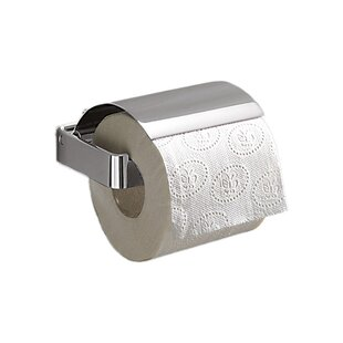 Lounge Wall Mounted Toilet Paper Holder with Cover by Gedy by Nameeks