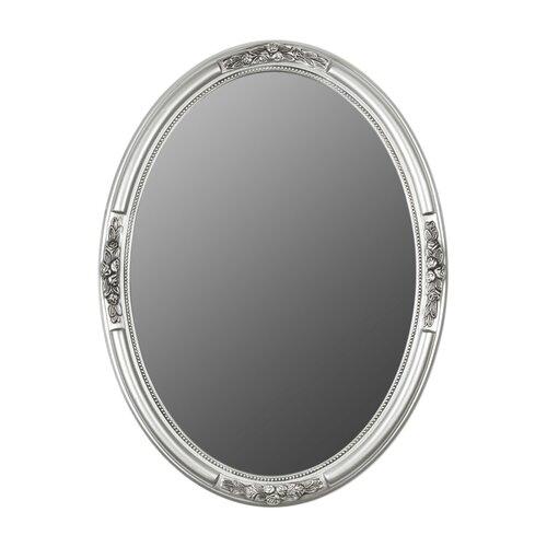 Spiegel Lily Manor Größe: 57 cm H x 47 cm B x 5 cm T  Ausführung: Silber   Flur & Diele > Spiegel   Lily Manor