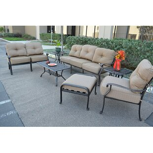 Kristy 7 Piece Sofa Set with Cushions