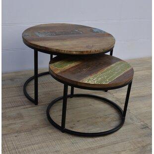 Hagood 2 Piece Nesting Tables