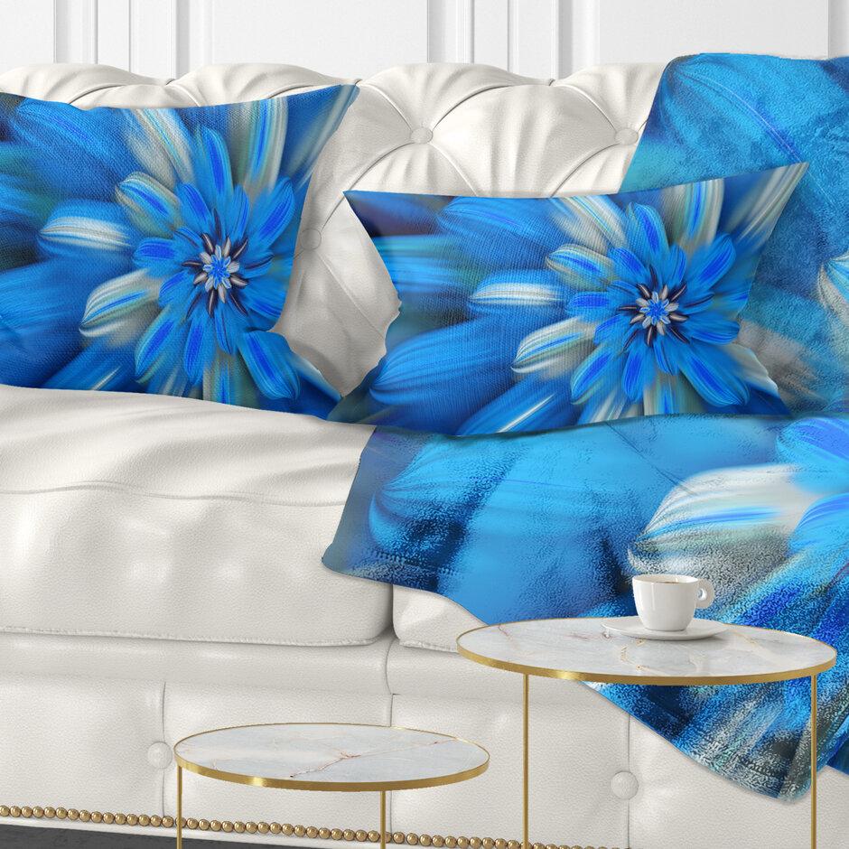 East Urban Home Floral Exotic Dance Of Flower Petals Lumbar Pillow Wayfair