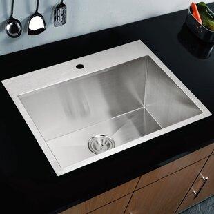 Review Brier Single Bowl Kitchen Sink by dCOR design