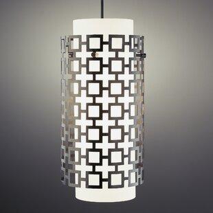 Jonathan Adler Parker 1-Light Cylinder Pendant