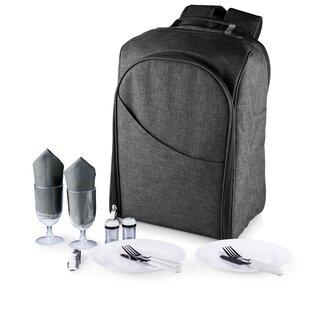 15 Piece PT-Colorado Picnic Backpack Set
