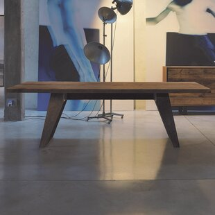 Benjamin Fixed Oblique Solid Wood Dining Table