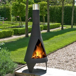 Jonathon Steel Wood Burning Chiminea By Sol 72 Outdoor