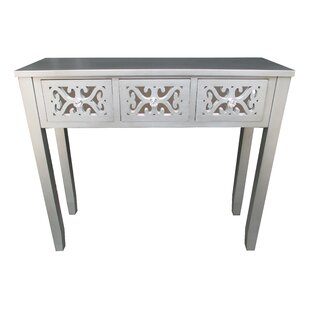 Find for Wooden 3 Drawer Console Table By Jeco Inc.