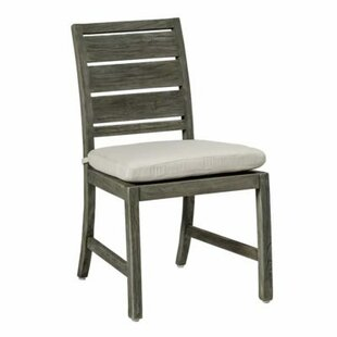 Charleston Teak Patio Dining Chair with Cushion