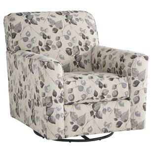 Modoc Swivel Armchair by Alcott Hill