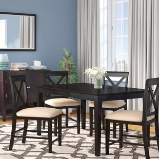 Andover Mills Crestwood Traditional 5 Piece Dining Set