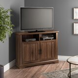 Tomball Corner TV Stand for TVs up to 48 by Three Posts™